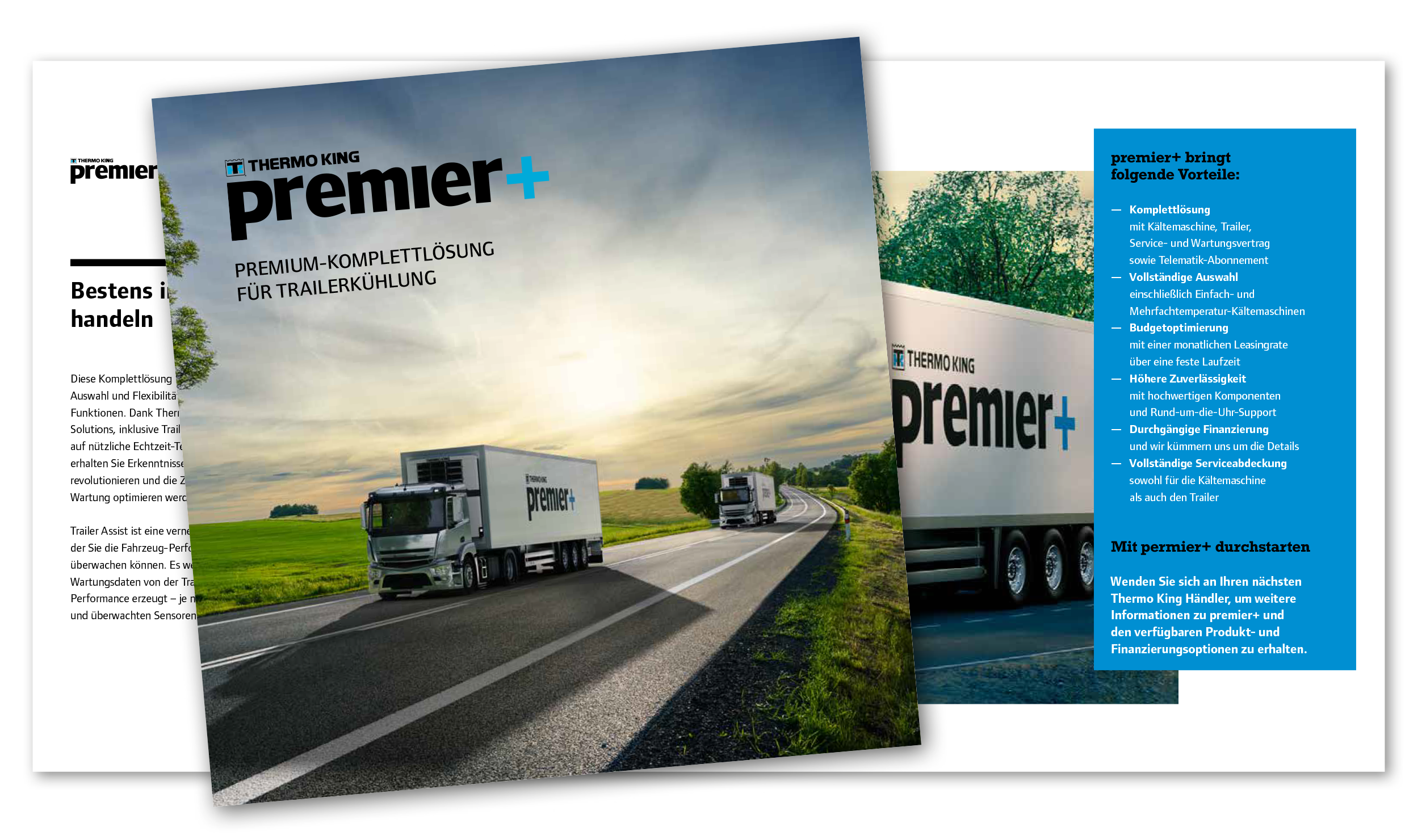 Kühlauflieger Komplettlösung Premier+