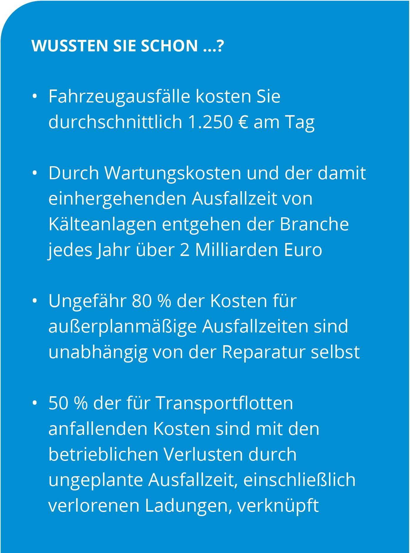 Blue Track Service Händler Bausteine